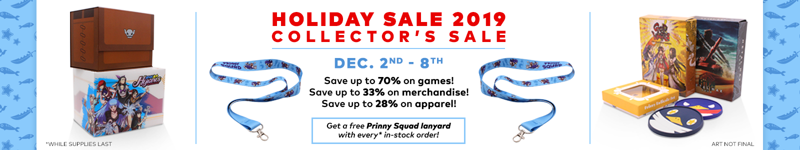Holiday Sale 2019: Collector's Sale