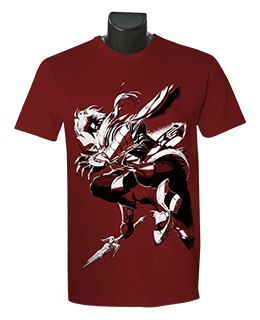 "Ys IX: Monstrum Nox - Adol, ""The Crimson King"" T-Shirt"