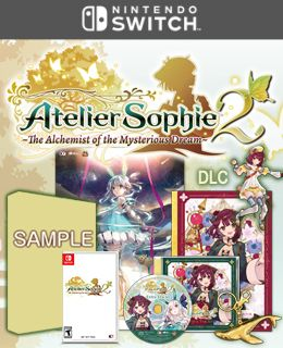 Atelier Sophie 2: The Alchemist of the Mysterious Dream Limited Edition (Nintendo Switch™)