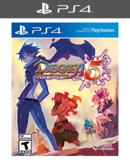 Disgaea 5: Alliance of Vengeance Standard Edition