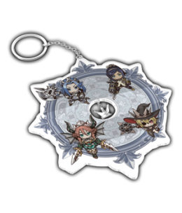 The Princess Guide Acrylic Charm Keychain