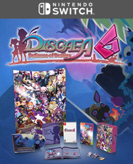 Disgaea 6: Defiance of Destiny Limited Edition (Nintendo Switch™)