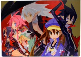 "Disgaea 4 - ""Interpretive Cape Lining"" Giclee"