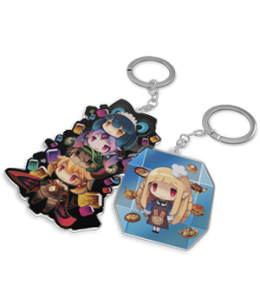 Lapis x Labyrinth - Mayor's Little Treasures Keychain Set