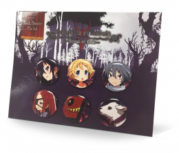 Labyrinth of Refrain: Coven of Dusk - Dusk Theatre Button Set