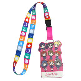 Love Live! The School Idol Movie Ticket And Pass Holder