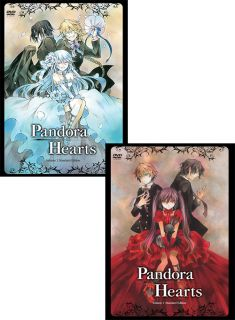 PandoraHearts Vol 1 & 2 Standard Edition Set