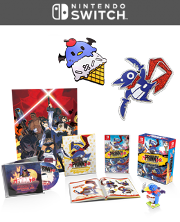 Prinny 1·2: Exploded and Reloaded Just Deserts Edition & Prinny Pin Collection Set