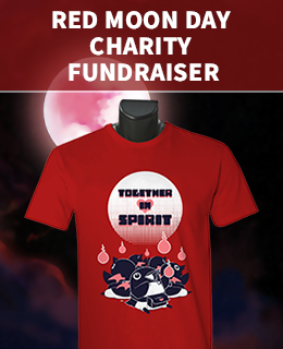 Red Moon Day Charity Fundraiser 2020 T-Shirt