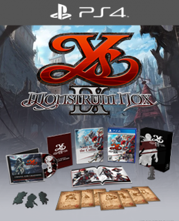 Ys IX: Monstrum Nox Limited Edition (PS4™)