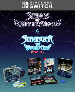 Saviors of Sapphire Wings / Stranger of Sword City Revisited Limited Edition (Nintendo Switch™)