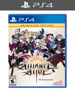 The Alliance Alive HD Remastered (PS4) Standard Edition