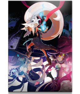 "The Witch and the Hundred Knight™ 2 - ""Witches of Kevala"" Giclee"