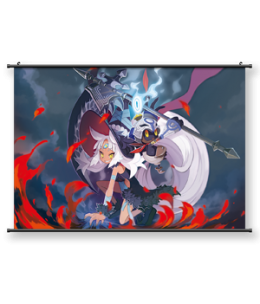 """The Witch and the Hundred Knight™ 2 - """"Tremble Before Me!"""" Wall Scroll"""