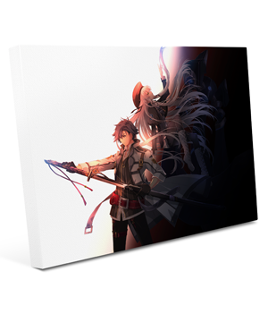 The Legend of Heroes: Trails of Cold Steel III - Rean and Altina Giclee