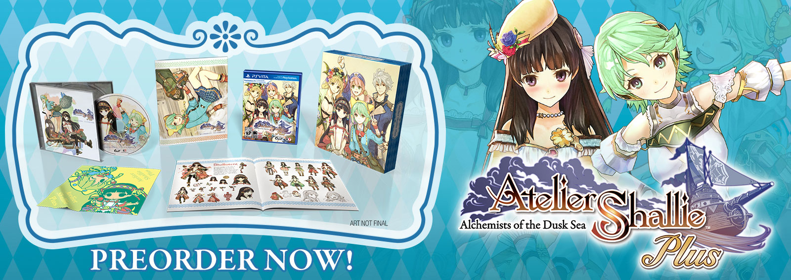 Atelier Shallie Plus: Alchemists Of The Dusk Sea Limited Edition