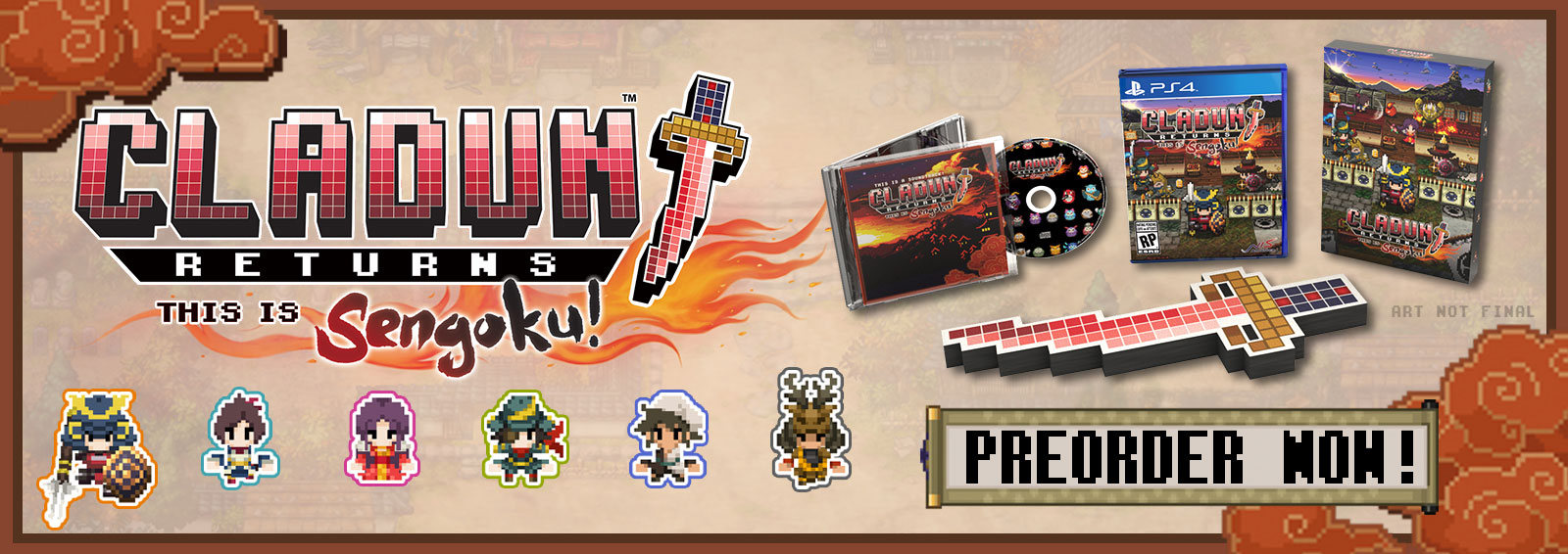 Cladun Returns: This is Sengoku! Limited Edition