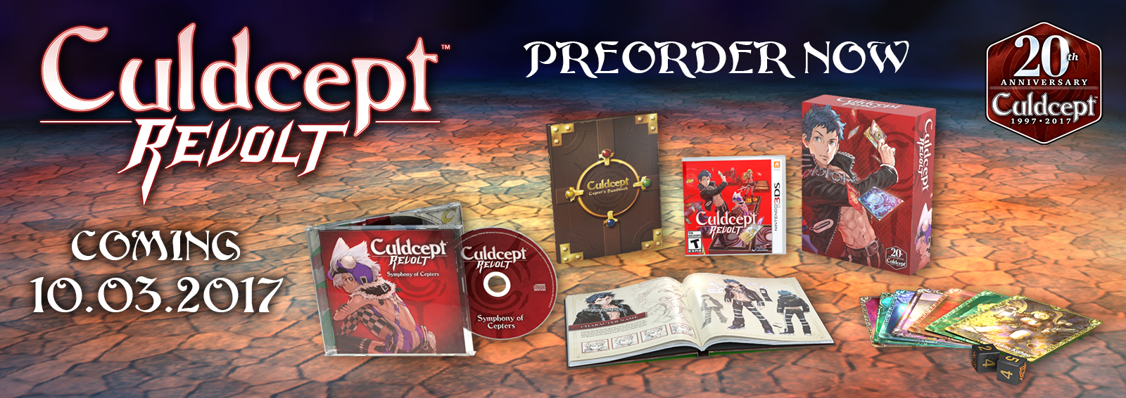 Culdcept Revolt Limited Edition for Nintendo 3DS™