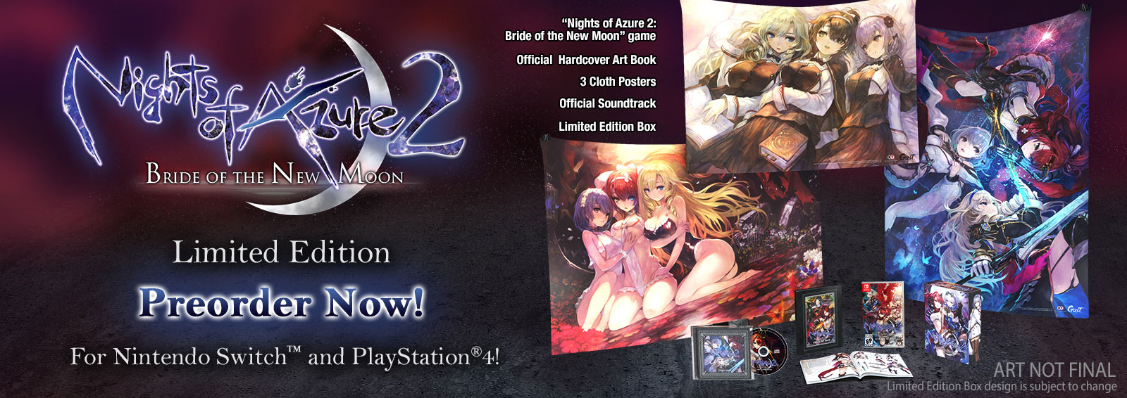 Nights Of Azure 2: Bride Of The New Moon Limited Edition