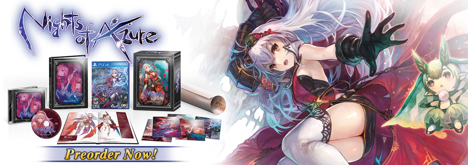 Nights of Azure - Limited Edition