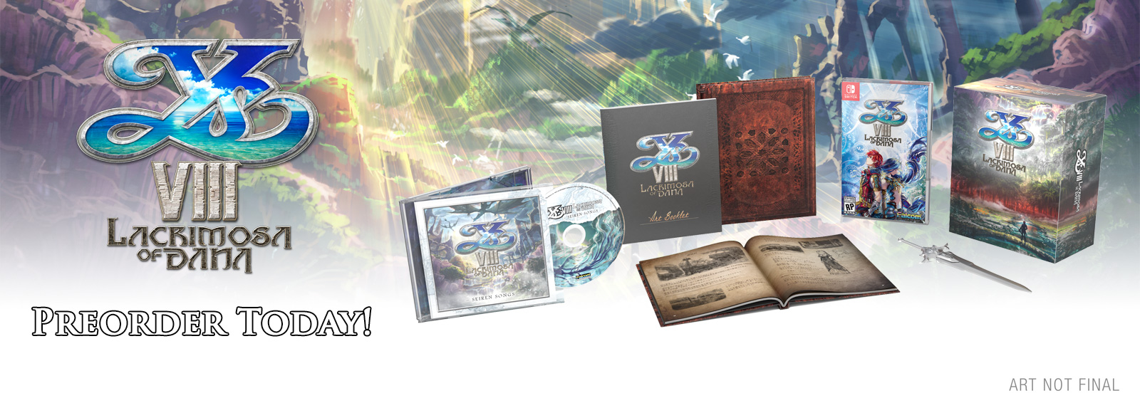 Ys VIII: Lacrimosa Of DANA Limited Edition (Nintendo Switch™)