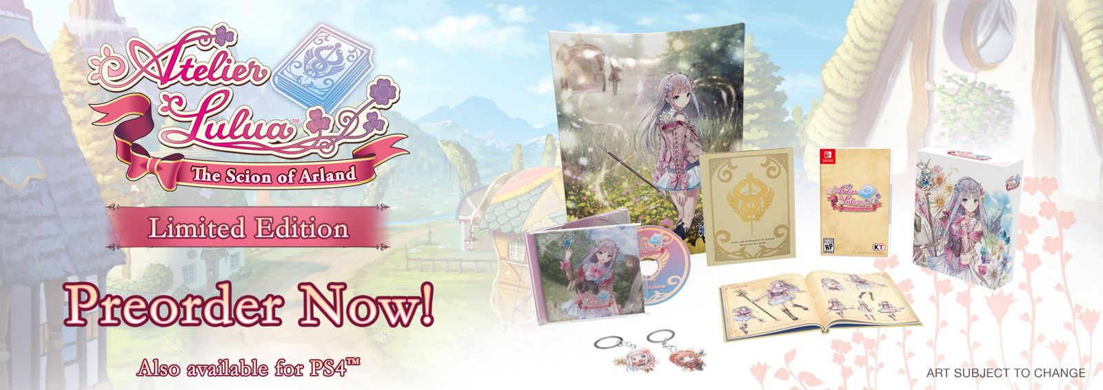Atelier Lulua: The Scion of Arland Limited Edition