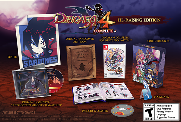Disgaea 4 Complete+: HL-Raising Edition - Now including a coaster!