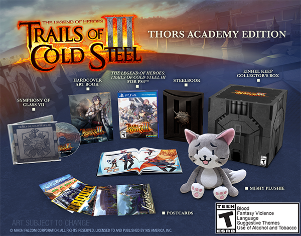 The Legend of Heroes: Trails of Cold Steel III - Thors Academy Edition
