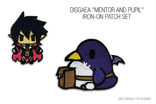 Mentor and Pupil Patches