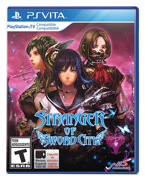 Stranger of Sword City for PSVita