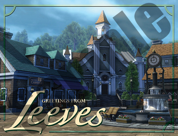 Leeves Postcard