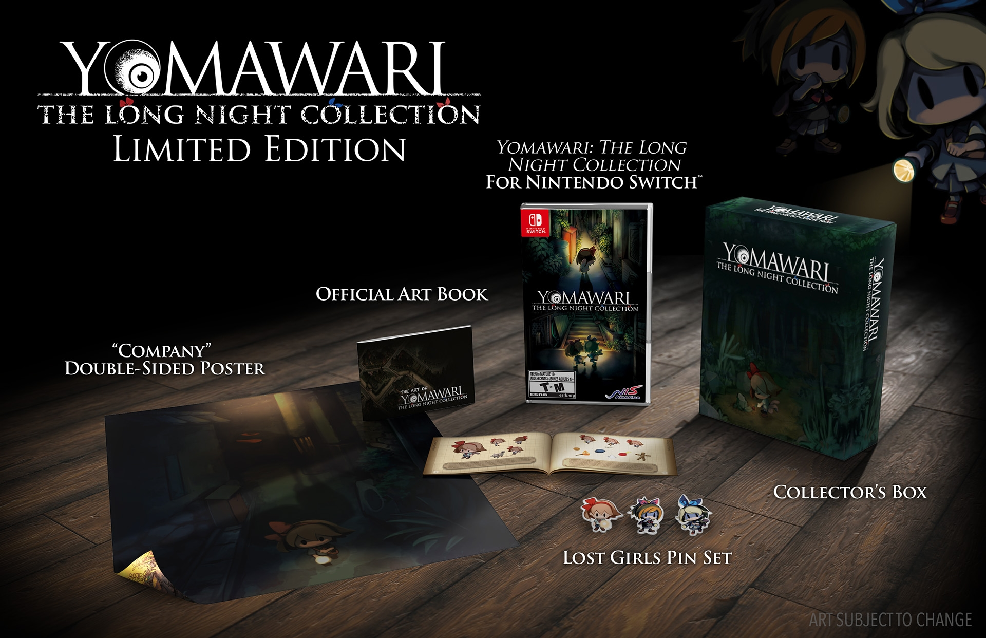 NISA Online Store Yomawari: The Long Night Collection Limited Edition (Nintendo Switch™)