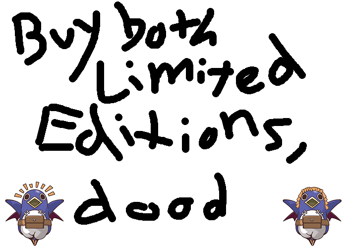 Buy Both Limited Editions, Dood