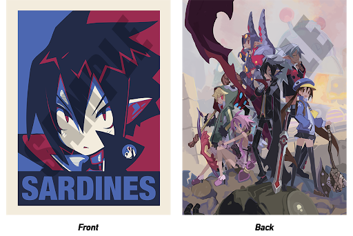 Disgaea 4 Complete+: HL-Raising Edition - Double Sided Poster